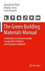 Cover Image of The Green Building Materials Manual